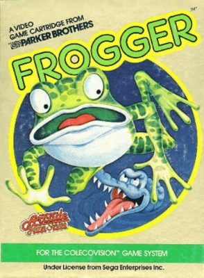 Frogger Cover Art
