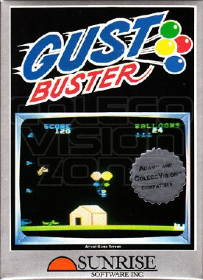 Gust Buster Cover Art