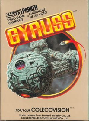 Gyruss Cover Art