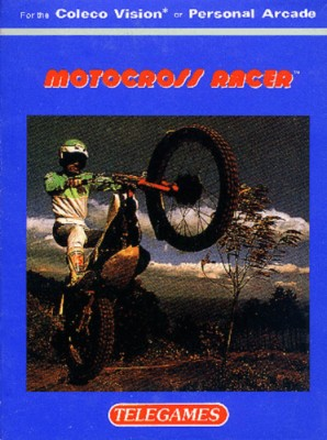 Motocross Racer Cover Art