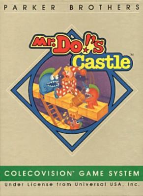 Mr. Do!'s Castle Cover Art