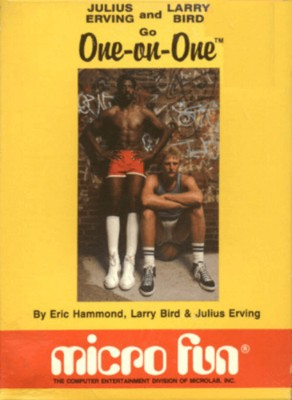 One on One Basketball Cover Art