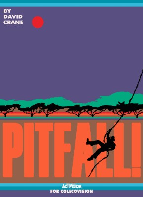 Pitfall! Cover Art