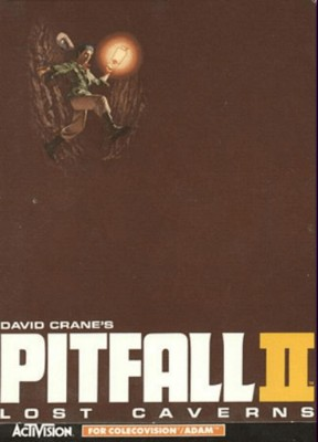 Pitfall II: Lost Caverns Cover Art
