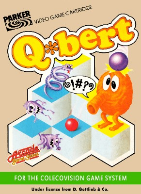 Q*bert Cover Art
