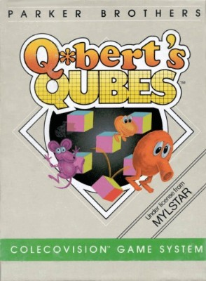 Qbert's Qubes Cover Art