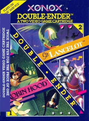 Robin Hood & Sir Lancelot Cover Art