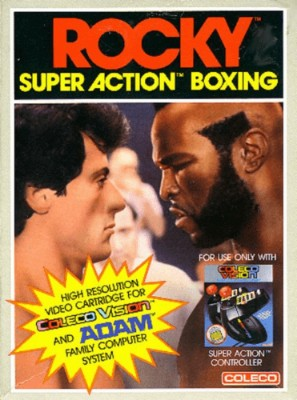 Rocky: Super Action Boxing Cover Art