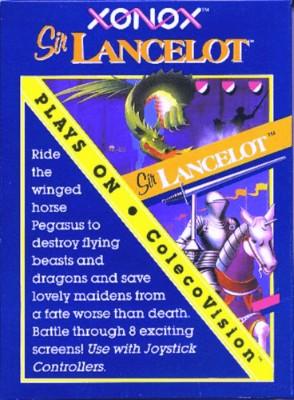 Sir Lancelot Cover Art
