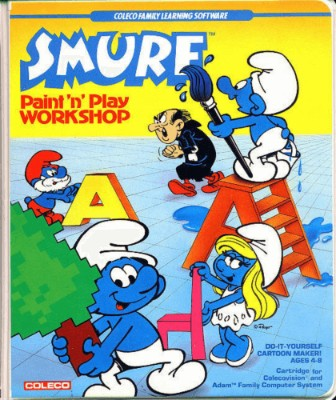 Smurf: Paint 'N Play Workshop Cover Art
