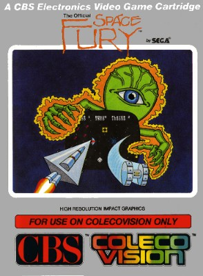 Space Fury Cover Art