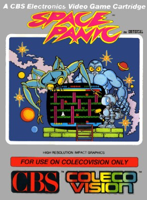 Space Panic Cover Art