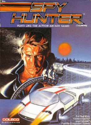 Spy Hunter Cover Art