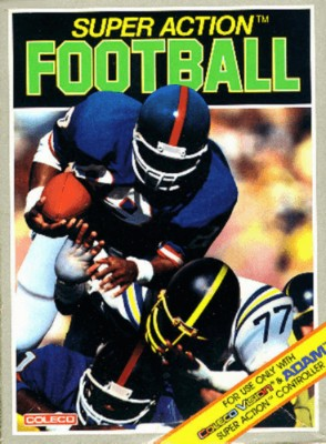 Super Action Football Cover Art