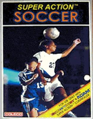 Super Action Football (Soccer) Cover Art