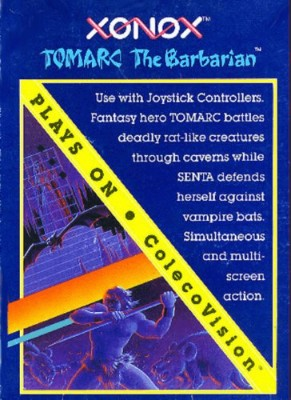 Tomarc the Barbarian Cover Art