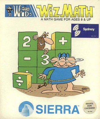 Wizard of Id's Wiz Math Cover Art