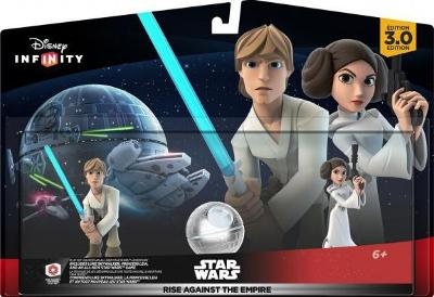 Rise Against The Empire Play Set [Luke Skywalker and Princess Leia] Cover Art