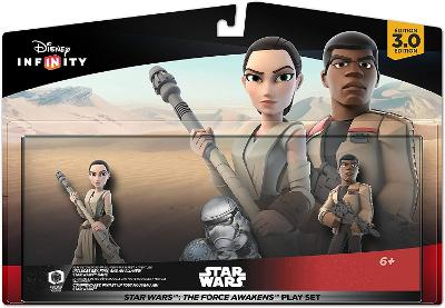 Star Wars: The Force Awakens Play Set [Rey and Finn] Cover Art
