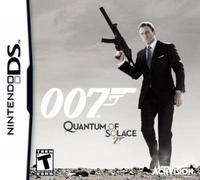 007: Quantum of Solace Cover Art