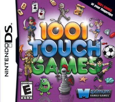 1001 Touch Games Cover Art