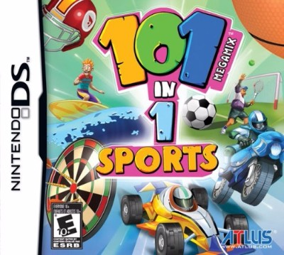 101-in-1 Sports Megamix Cover Art