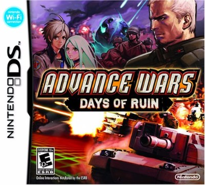 Advance Wars Days of Ruin Cover Art