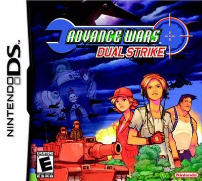 Advance Wars Dual Strike Cover Art