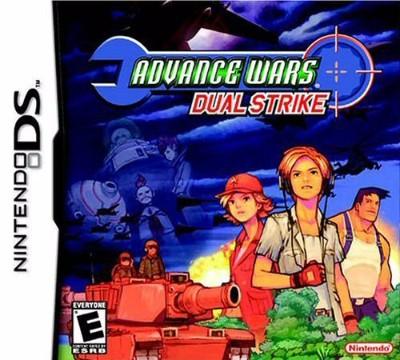 Advance Wars Dual Strike Cover Art