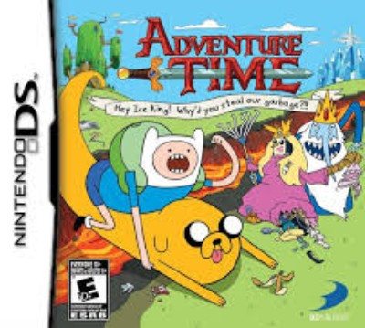 Adventure Time: Hey Ice King Cover Art
