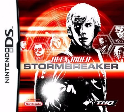 Alex Rider Stormbreaker Cover Art