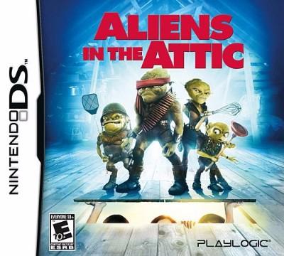 Aliens in the Attic Cover Art