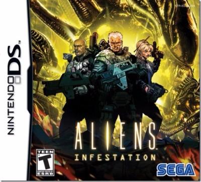 Aliens: Infestation Cover Art