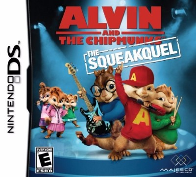 Alvin and the Chipmunks: The Squeakquel Cover Art
