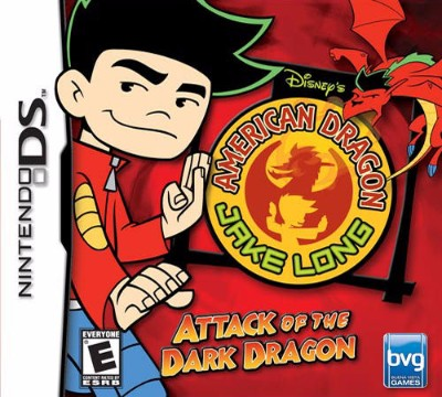 American Dragon Jake Long Attack of the Dark Dragon Cover Art
