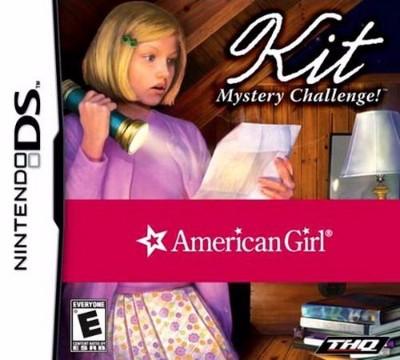 American Girl: Kit Mystery Challenge Cover Art