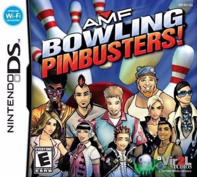 AMF Bowling Pinbusters Cover Art