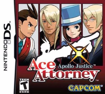 Apollo Justice: Ace Attorney Cover Art