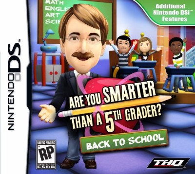 Are You Smarter Than A 5th Grader? Back to School Cover Art