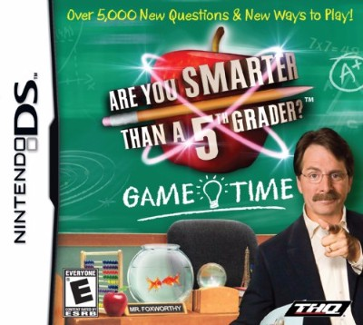 Are You Smarter Than A 5th Grader? Game Time Cover Art