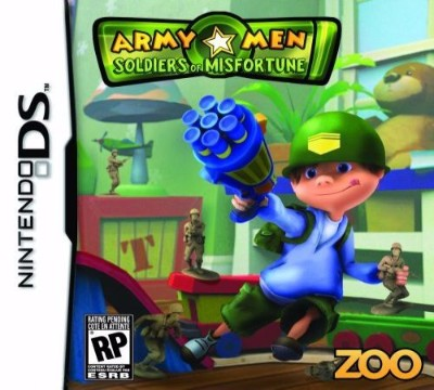 Army Men Soldiers of Misfortune Cover Art