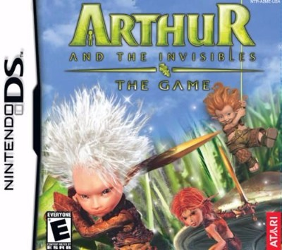 Arthur and the Invisibles Cover Art