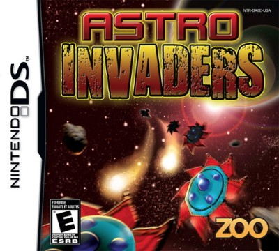 Astro Invaders Cover Art