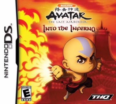 Avatar: The Last Airbender: Into the Inferno Cover Art