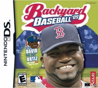 Backyard Baseball 10 Cover Art