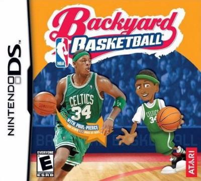 Backyard Basketball Cover Art