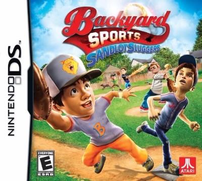 Backyard Sports: Sandlot Sluggers Cover Art