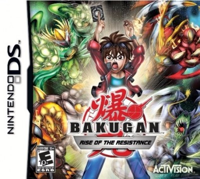 Bakugan: Rise Of The Resistance Cover Art