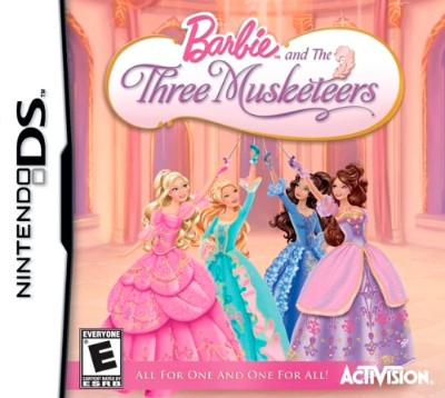 Barbie and the Three Musketeers Cover Art