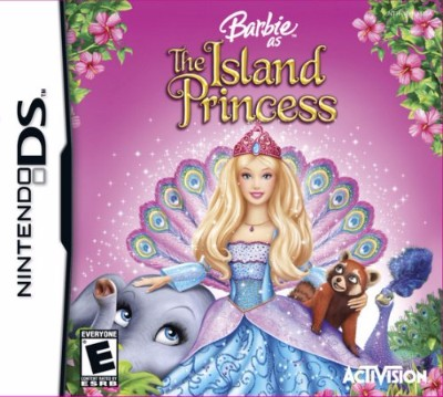Barbie: The Island Princess Cover Art